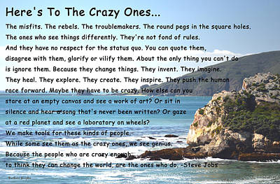 Pier Digital Art - To The Crazy Ones by Barbara Snyder
