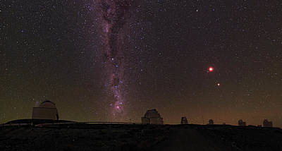Constellations Photograph - Total Lunar Eclipse by Babak Tafreshi