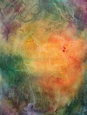 Inktense Painting - Tree Of Life by Ellen Starr