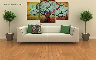 Tree Of Love Original by Maria Kuptsova