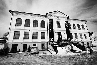 Tromso Gallery Of Contemporary Art Troms Norway Europe Print by Joe Fox