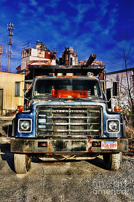 Truck Print by HD Connelly