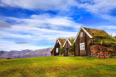 Turf Photograph - Turf Houses by Alexey Stiop