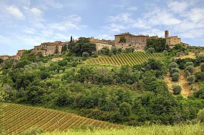Siena Photograph - Tuscany - Castelnuovo Dell'abate by Joana Kruse