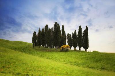 Siena Photograph - Tuscany - Montalcino by Joana Kruse