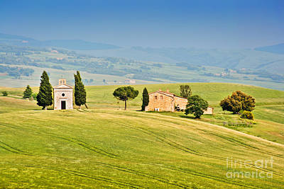 Tuscany Print by JR Photography