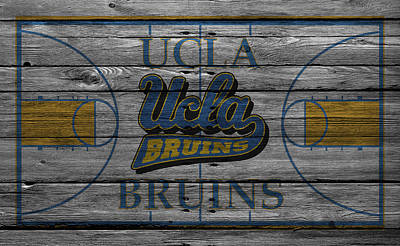 Ucla Bruins Print by Joe Hamilton