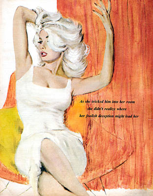 Uk Womens Story Illustrations Magazine Print by The Advertising Archives