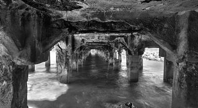 Under The Boardwalk Print by James Roemmling