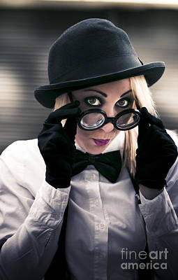 Observer Photograph - Undercover Secret Agent by Jorgo Photography - Wall Art Gallery
