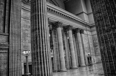 Union Station Chicago Print by Mike Burgquist