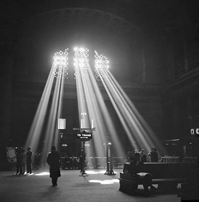 Union Station In Chicago Print by Jack Delano