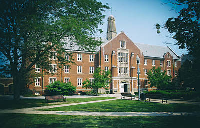 Uconn Photograph - University Of Connecticut Campus by Mountain Dreams