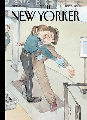 Airport Painting - Untitled by Barry Blitt