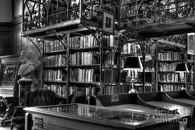 Uris Library Cornell University Print by Brad Marzolf Photography