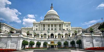 United States Capitol Original by Mitch Cat
