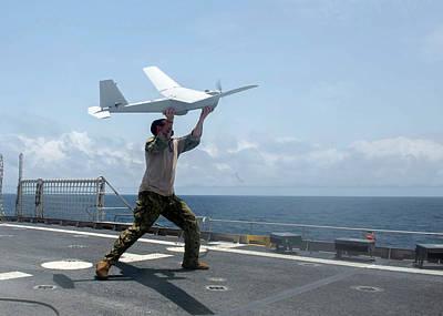Ghana Photograph - Us Military Surveillance Drone by U.s. Navy
