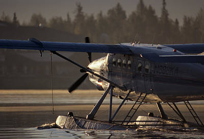 Float Plane Photograph - Usa, Alaska, Float Plane, Anchorage by Gerry Reynolds