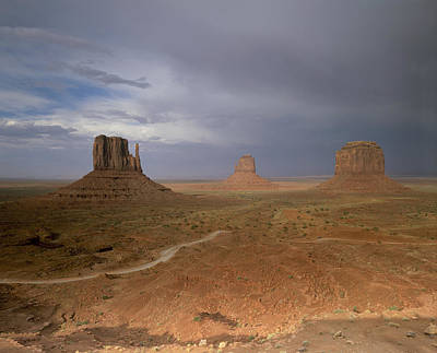 Usa, Arizona, Monument Valley, The Print by Tips Images