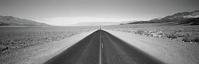 Usa, California, Death Valley, Empty Print by Panoramic Images
