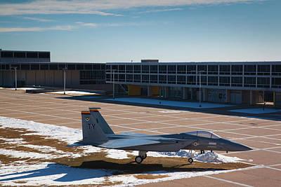 F-15 Photograph - Usa, Colorado, Colorado Springs, United by Walter Bibikow