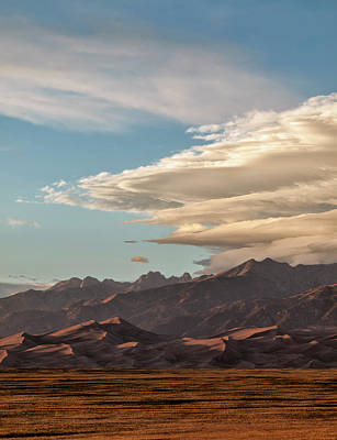 Luis Photograph - Usa, Colorado, Great Sand Dunes by Ann Collins