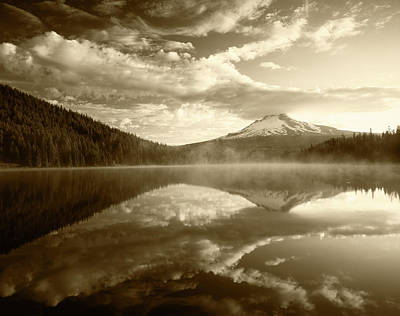 Usa, Oregon, Mount Hood National Print by Adam Jones