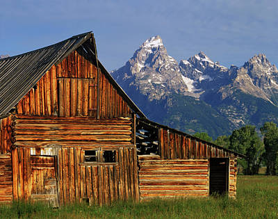 Usa, Wyoming, Grand Teton National Park Print by Jaynes Gallery
