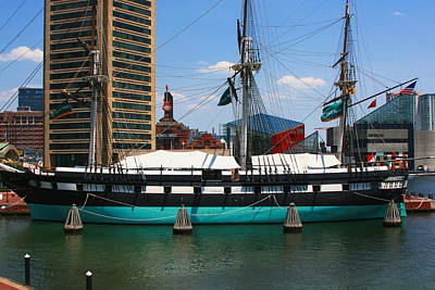 Uss Constellation Original by Andy Lawless