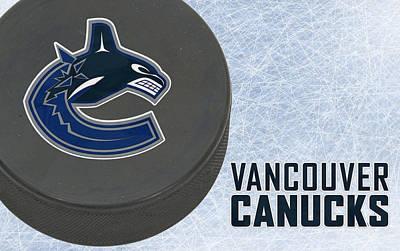 Vancouver Canucks Print by Joe Hamilton