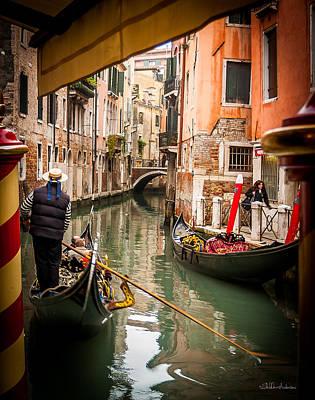 Venice Gondola  Original by Sheldon Anderson