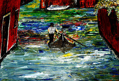 Venice Spring Print by Mark Moore