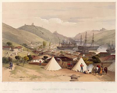 View Above Balaklava Print by British Library