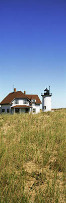 Cape Cod Photograph - View Of A Lighthouse, Race Point Light by Panoramic Images