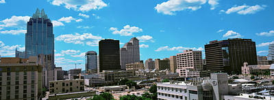 View Of Buildings In Austin, Texas, Usa Print by Panoramic Images