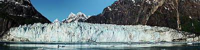 Cold Temperature Photograph - View Of Margerie Glacier In Glacier Bay by Panoramic Images