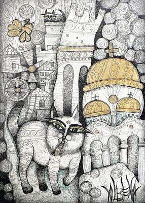 Villages Of My Childhood Original by Albena Vatcheva