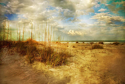 Seagrass Photograph - Vintage Beach by Betsy C Knapp