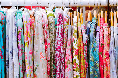 Vintage Dresses Print by Tom Gowanlock