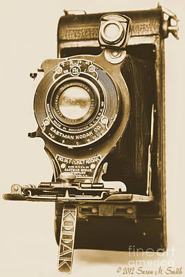 Susan M. Smith Photograph - Vintage Kodak by Susan Smith