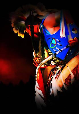 Powwow Photograph - Vision Quest by Terril Heilman