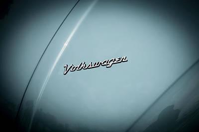 Volkswagen Beetle Emblem Print by Rich Franco