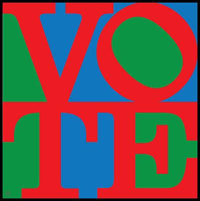 Voted Digital Art - Vote by Gary Grayson