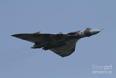 Raf Photograph - Vulcan To The Sky  by J Biggadike