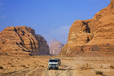 Wadi Rum In Jordan Print by Robert Preston