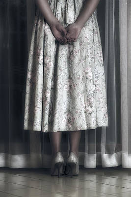 Evening Gown Photograph - Waiting by Joana Kruse