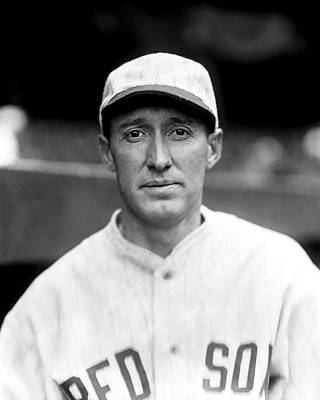 Red Sox Photograph - Walter Wally Gerber by Retro Images Archive