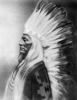 Washakie Photograph - Washakie (1804-1900) by Granger