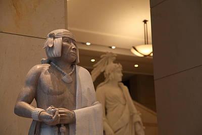 Detail Photograph - Washington Dc - Us Capitol - 01131 by DC Photographer