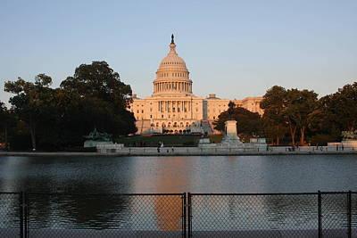 Rotunda Photograph - Washington Dc - Us Capitol - 011311 by DC Photographer